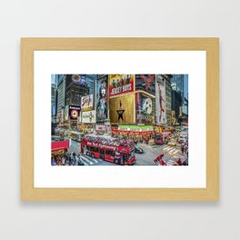 Times Square II Special Edition I Framed Art Print