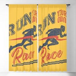 Run your race Blackout Curtain