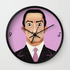 Clockwise Dali Wall Clock