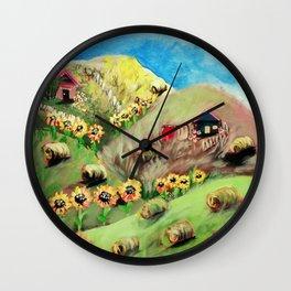 Virginia Shenandoah Valley Wall Clock