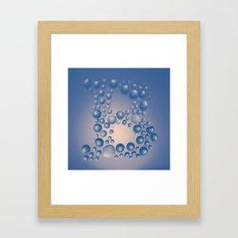 100 Days of Hybrid Type: B Framed Art Print