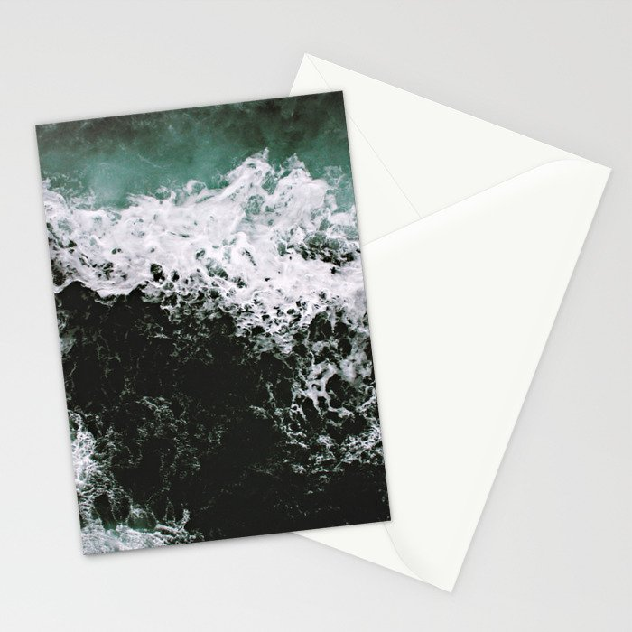 Waves #ocean Stationery Cards