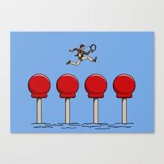 The Big Red Balls of Doom Canvas Print