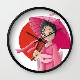Japonaise 3 Wall Clock