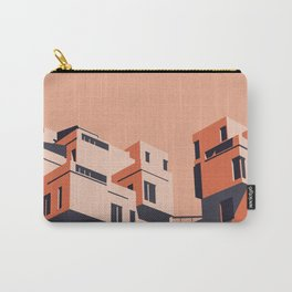 Habitat 67 retro poster Carry-All Pouch