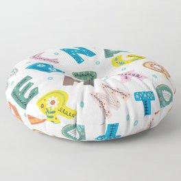 ABC Floor Pillow