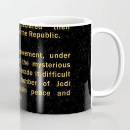 Episode II Crawl Text Coffee Mug