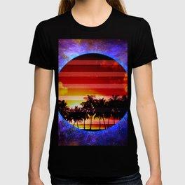 Synthwave Poster v.1 T-shirt
