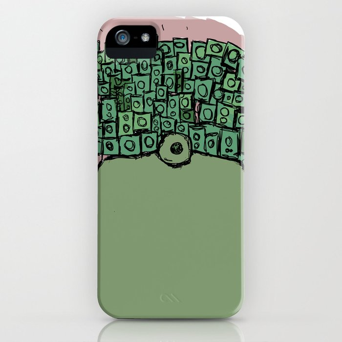 Spaceman with more Speakers iPhone Case