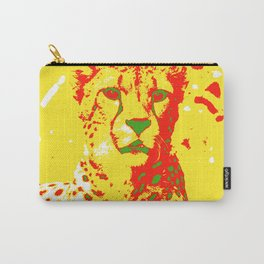Pop Art Cheetah Carry-All Pouch