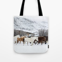 Carol Highsmith - Wild Horses Tote Bag