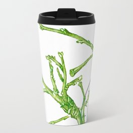 Branch of a Quince tree in Winter Travel Mug