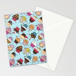 Cupcake Parade Stationery Cards