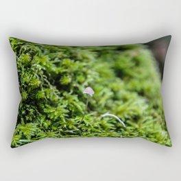 moss mushroom Rectangular Pillow
