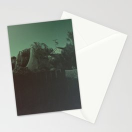 Giant Alien Spiders Stationery Cards