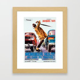 Trafic Framed Art Print