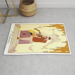 George Barbier - Automne (art deco print) Rug
