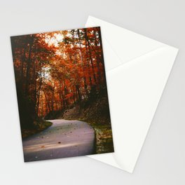 Autumn Trail (Color) Stationery Cards