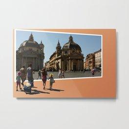 Visit Rome Metal Print