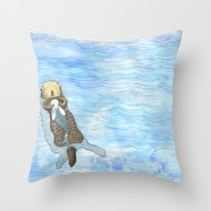 Embrace 3 Throw Pillow