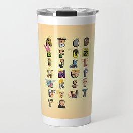 Bob-phabet Travel Mug