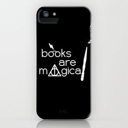 Books are Magical iPhone Case