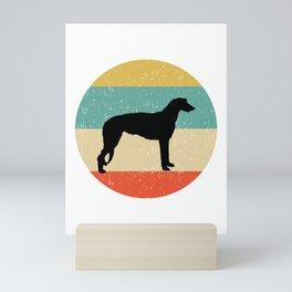 Scottish Deerhound Dog Gift design Mini Art Print