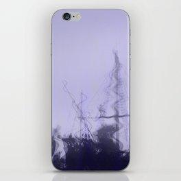 purple vessels iPhone Skin