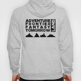 The Mountains (Black Print) Hoody