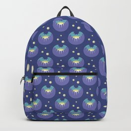 Glowing flowers Backpack