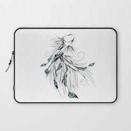 Poetic Betta Fish Laptop Sleeve