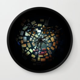 Luther - Decoupage Wall Clock