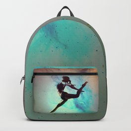 Ballet Dancer Feat Lady Dreams Abstract Art Backpack