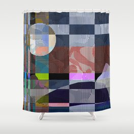 Lagoon Shower Curtain
