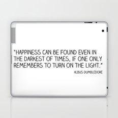 Happiness is always somewhere. Laptop & iPad Skin
