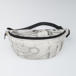 Medieval Barbican Fanny Pack