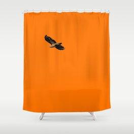 Free Bird5  Shower Curtain