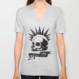 Misfit Skull Unisex V-Neck