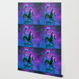 Nebula Purple Blue Pink Wallpaper
