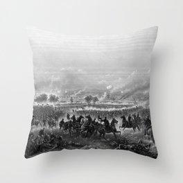 Gettysburg -- Civil War Throw Pillow