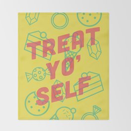 Treat Yo' Self Throw Blanket