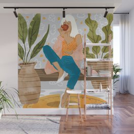 Boss Lady #illustration #painting Wall Mural