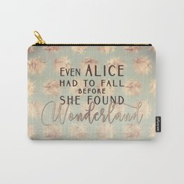 Alice Found Wonderland Carry-All Pouch