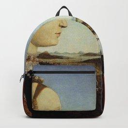 Piero della Francesca - Diptych of Federico da Montefeltro and Battista Sforza Backpack