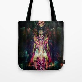 Fractured Girl Tote Bag