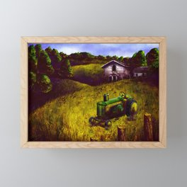 Out on the Old Farmstead Framed Mini Art Print