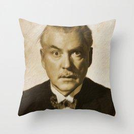Nigel Bruce Throw Pillow