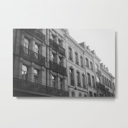 Brussels Architecture Metal Print