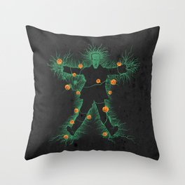 halloween vacation Throw Pillow