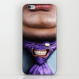 Man Fat and Tie iPhone Skin